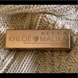 Becca Khloe & Malika lipstick in Cupid's Kiss
